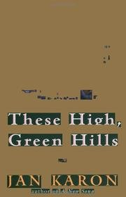 Image for These High, Green Hills - The Mitford Years, The Third Novel in the bestselling Mitford Series