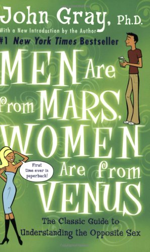 Image for Men Are from Mars, Women Are from Venus  The Classic Guide to Understanding the Opposite Sex